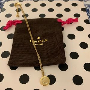 Kate spade initial C necklace